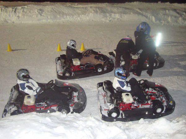 Kart Racing On ICE