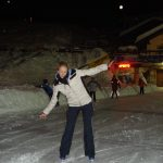 Cervinia outdoor ice rink