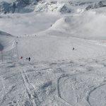 Skiing in the sky